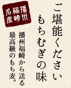 播州福崎名産 もちむぎ